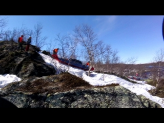 Водопады Кольского часть1(Ура-Титовка-Лица)