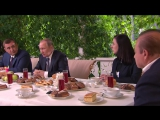 Президент России Владимир Путин о внедрении ГИС ЖКХ на встрече в Ясной Поляне (08.01.2017)