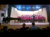 Академический хор Брянского областного колледжа искусств. Выступление в РАМ им.Гнесиных.