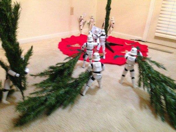 Подготовка к Новому году идет полным ходом, а вы уже поставили елку?