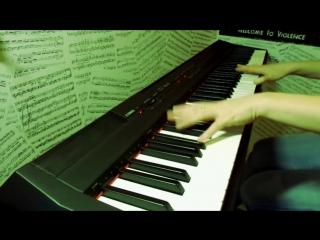 Пиано-кавер на Rammstein Mein Herz Brennt