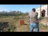 травматический пистолет Гроза,стрельба разными боеприпасами