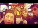 Влад Канопка, Екатерина Волкова, Илья Коробко в аэропорту застряли!