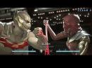 Injustice 2 - Бэтмен против Женщины-Кошки - Intros Clashes rus