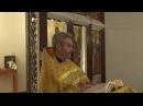 Проповедь отца Игоря Лысенко 16 июля 2017 г. (ранняя литургия)