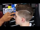 HOW TO DO A COMBOVER | TAPER FADE | BLOW DRY AND STYLE | SHEAR WORK