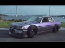 2JZ GTE Toyota Cresta | JDM drift | turbo sound anti lag