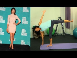 Kate Beckinsale Sexy Legs Workout, Yoga Poses, Get the Bod