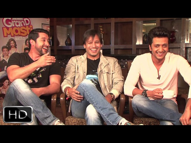'Excited' Aftab, 'Opportunist' Vivek, 'Deep Daddu' Riteish's Exclusive Interview On 'Grand Masti'