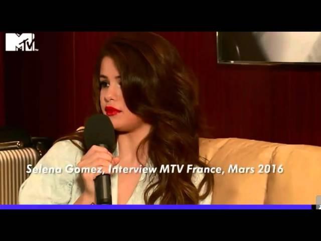 Selena Gomez Interview Paris, France March 2016