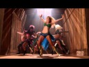 GLEE Brittany as Britney Spears I'm a Slave 4 U S02E02 Britney Brittany HD