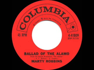 1960 HITS ARCHIVE: Ballad Of The Alamo - Marty Robbins