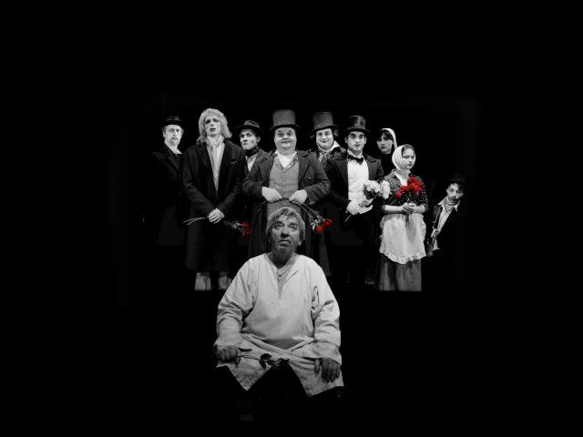 Актерская гибель дипломный спектакль по рассказу А.Чехова, театр Вахтангова