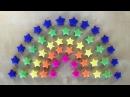 Origami Stern basteln mit Papier für Weihnachten: 3D Weihnachtsdeko - Geschenke selber machen - DIY