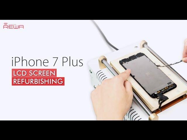 Fresh Tutorial of iPhone 7 Plus Cracked Screen Refurbishing
