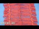 Joining Hairpin Laces Урок 18 часть 1 из 4 Метод соединения лент на вилке