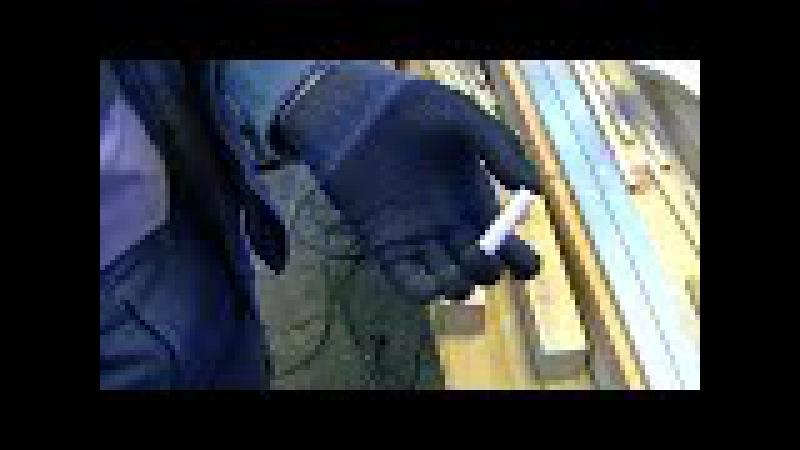 самодельные шканты часть 3 нарезка канавок для выхода клея