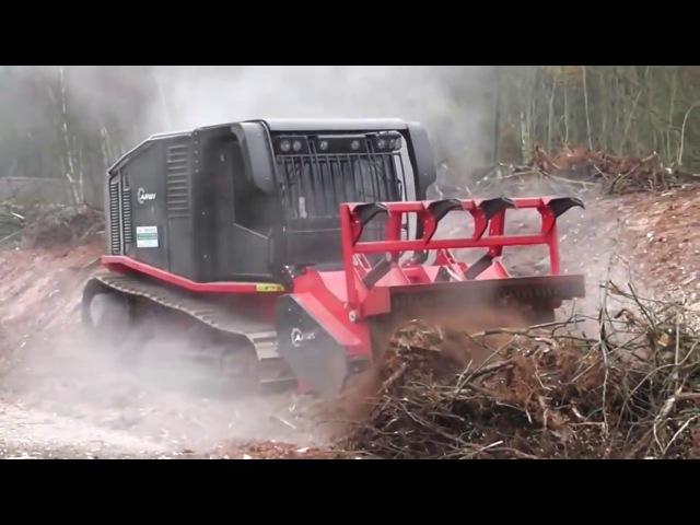 Как работают новые трактора новые технологии Спецтехника