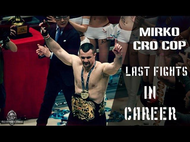 Mirko Cro Cop last fights in career 1080p Rizin documentary КроКоп последний бой