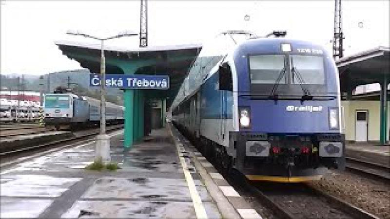 Vlaky - Česká Třebová - 8.5. a 21.9.2013