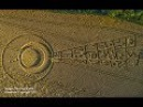 This Intricate New Crop Circle Appeared Just Days Before the Epic Solar Eclipse