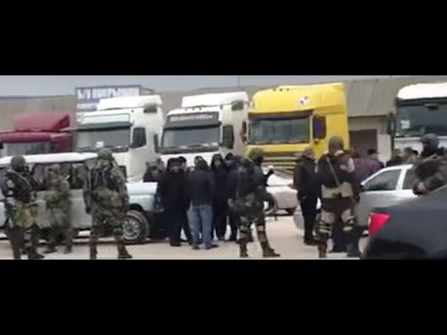 Дальнобойщики Дагестана оцеплены Нацгвардией. 1.04.2017.
