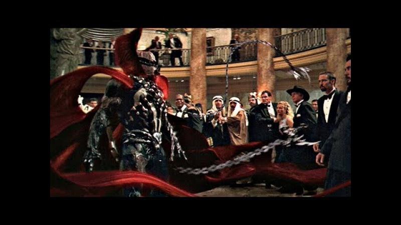 Рановато для Хеллоуина, Симмонс! Спаун нападет на Винна. Спаун. 1997.