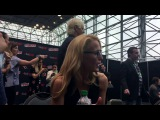 Interview with X Files Gillian Anderson At New York Comic Con