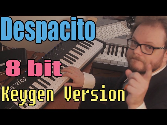 Despacito - 8 bit Version, as 80s Computer Game Music