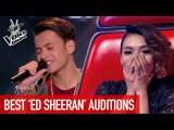 The Voice  BEST ED SHEERAN Blind Auditions PART 2