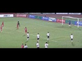 Vietnam Team Stops Playing to Protest Late Penalty, concede twice (MAD FOOTAGE)