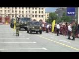 Военное ралли стартовало в России