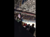 Хоккей, трибуны Русские вперёд