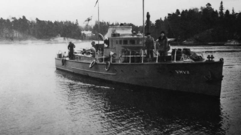 Музей береговой охраны Финляндии. Сторожевой катер VMV11, выпуск 1930 год