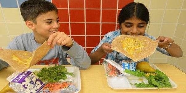 Ещё одна школа в США перешла на вегетарианское меню