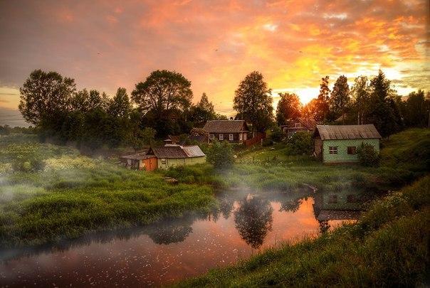 Плюсы жизни в деревне
