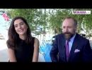 Интервью Бергюзар Корель и Халита Эргенча в Каннах... Mipkom - 2016