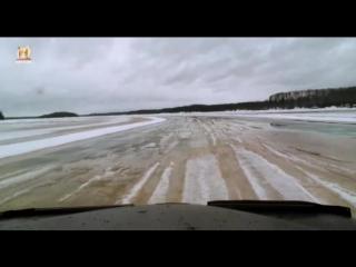 Ледовый путь дальнобойщиков 10 сезон 8 серия - Зимний ад / Ice Road Truckes (2016)