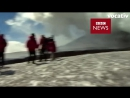 TV Crew Escapes Explosion On Mount Etna