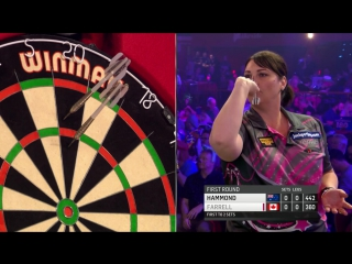 Corrine Hammond vs Patricia Farrell (BDO World Darts Championship 2017 / Round 1)