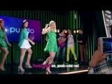 Ámbar y las chicas cantan Mírame a mí - Momento Musical (con letra) - Soy Luna