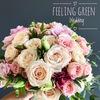 Свадьба   букет невесты   FEELING GREEN Липецк