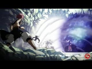 [Хвост Феи] Нацу против 2-х Драконов