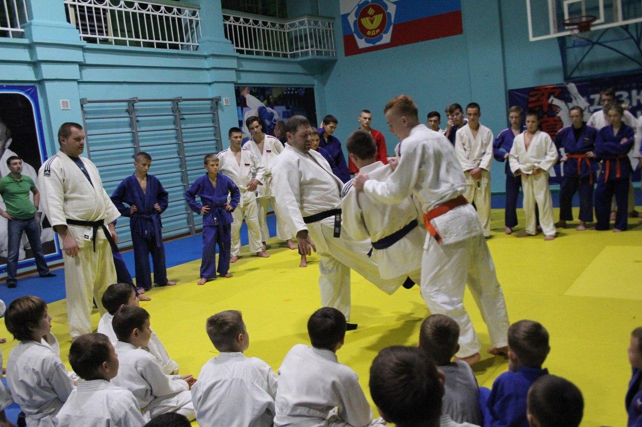 В Таганроге состоялся семинар по дзюдо