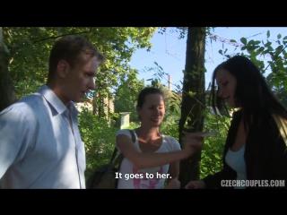 Swinger action with amateur couple