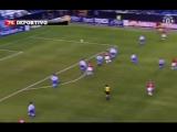 Гол Бекхэма в ворота Депортиво.