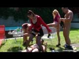 Piss Party With The Pool Boys Part 1.Celine Noiret, Daria Glower, Jenna Lovely,Kattie Gold.Pissing.золотой дождь.