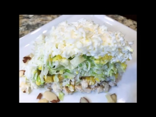САЛАТ НЕВЕСТА. Освежающий, Очень Нежный, Bride Salad
