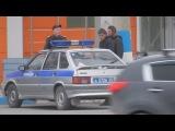 ЧП Ачинск  разборки в тк Сенатор задержание полицией подозреваемых из виномарк...