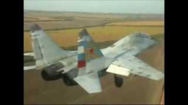 19 Гвардейский ИАП. Миллерово. Полеты Миг-29 парой.
